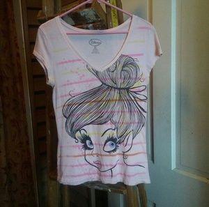 Cute Disney Princess V-Neck T-Shirt